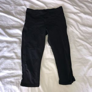 Lululemon Fast and Free Crop *19 inch.